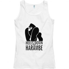 Heels Down For Harambe Tank