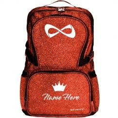 Custom Name Crowned Backpack