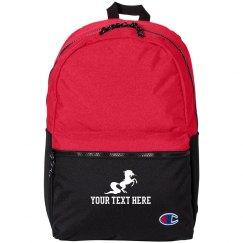 Custom Text Unicorn Backpack