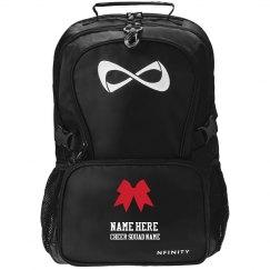 Custom Cheer Squad Name Backpack