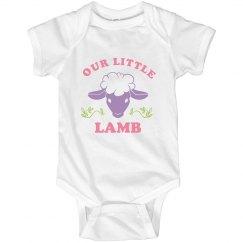 Cute Our Little Lamb