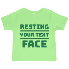 Resting Grinch Face Ruffle Tee