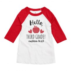 Hello, Third Grade!
