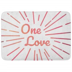 One Love All Over Print Pattern