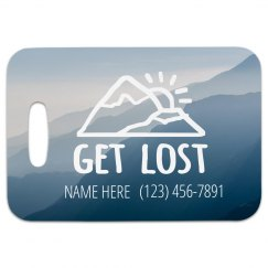 Get Lost Traveling Tag