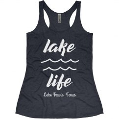Living that Lake Life Custom Summer Vacation Tank