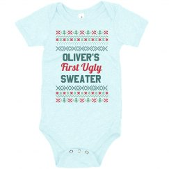 Baby's First Custom Ugly Sweater