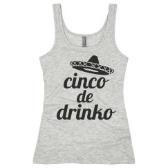 Cinco de Drinko Gray