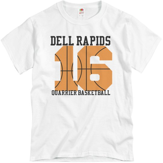 16 Quarrier B-Ball Shirt