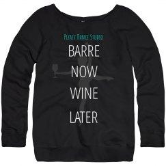 Barre sweatshirt