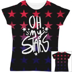 Oh My Stars All Over Print Design