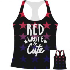 Red White & Cute All Over Print