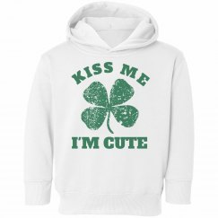 St Patricks Day Toddler Hoodies