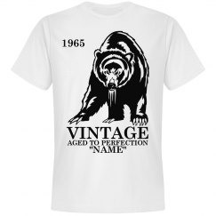 Vintage Bear Birthday shirt