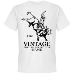 Vintage Cowboy Birthday shirt