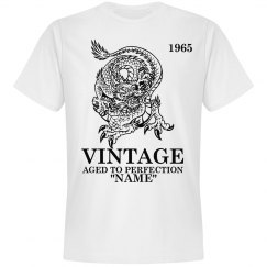 Vintage Dragon Birthday shirt