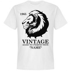Vintage Lion Birthday shirt