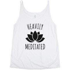Heavily Meditated Yoga Lotus