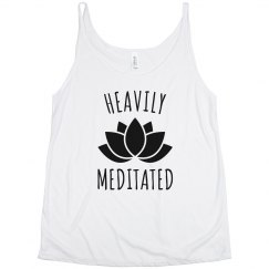 Heavily Meditated Yoga Lotus