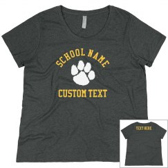 Custom School Pluss Crewneck Sweater
