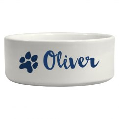 Personalized Dog Name Bowl