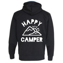 Trendy Hiking Happy Camper