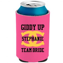 Team Bride Cowgirl Can