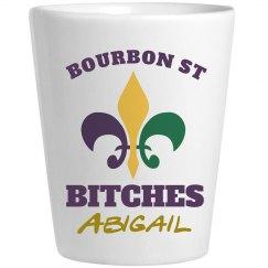 Mardi Gras Bourbon Shot 2