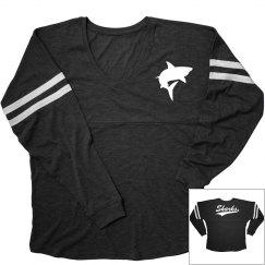 Palacios sharks long sleeve shirt.