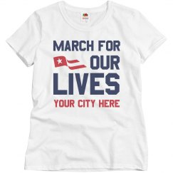 March For Our Lives Custom Location