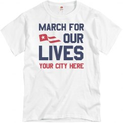 March For Our Lives Custom City