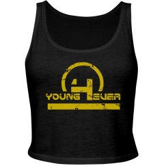 YOUNG4EVER WOMENS CROP