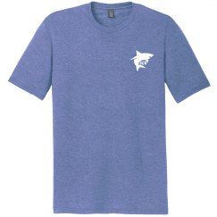 Tri-blend Royal Frost t-shirt