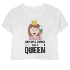 Emoji Coffee Queen