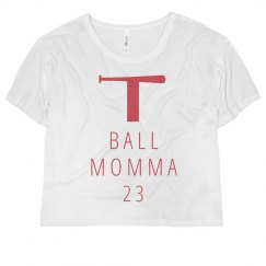 T-Ball Mom Simple