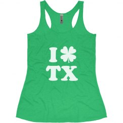 I Love St Patricks in Texas