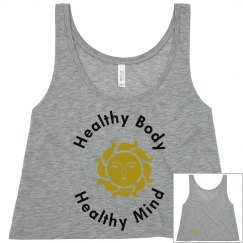 Healthy Body and Mind Sun Shirt