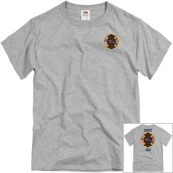 Mt. View Fire Department Tee - Gray