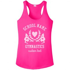 Gymnastics Custom School Team Performance Tank