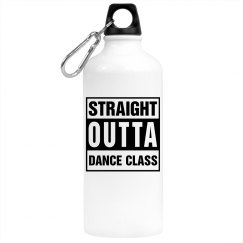 Straight Outta Dance (water bottle)