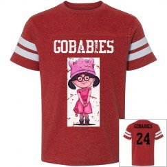 GOBABIES Youth LAT Vintage Sports Tee