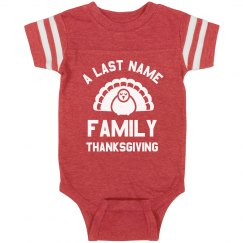 Custom Baby's Family Thanksgiving