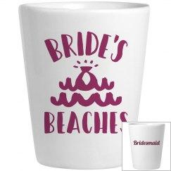Bride's Beaches Shot glass