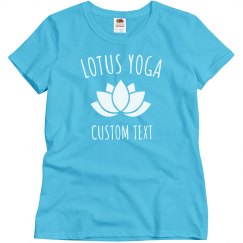Custom Tees for your Yoga Studio