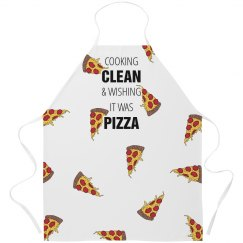 Cooking Clean Wishing For Pizza