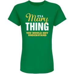 Mary Thing