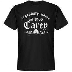 Carey. Legendary name