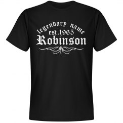 Robinson. Legendary name