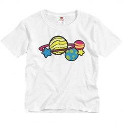 Stars and Planets Kids T-Shirt