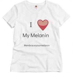 I love my melanin